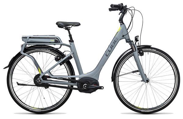 CUBE - Delhi Hybrid 500 grey´n´lime