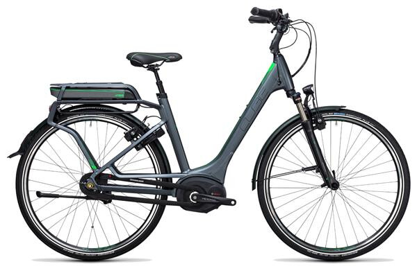 CUBE - Travel Hybrid Pro RT 500 grey´n´flashgreen