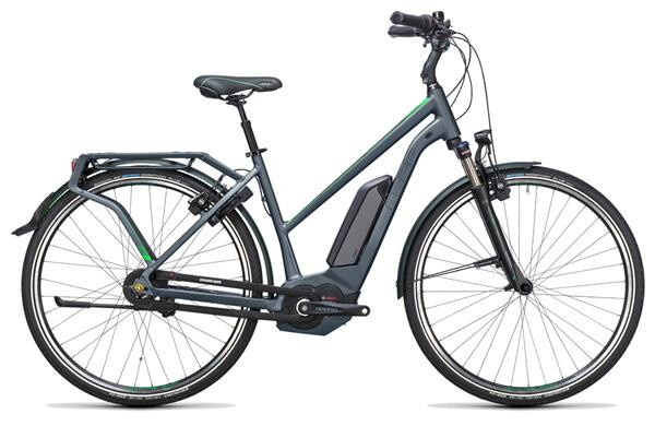 CUBE - Travel Hybrid Pro 400 grey´n´flashgreen