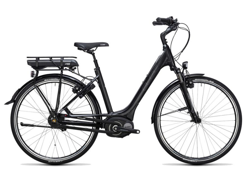 Cube Travel Hybrid 500 black´n´white