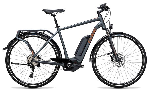 CUBE - Touring Hybrid Exc 500 grey´n´copper