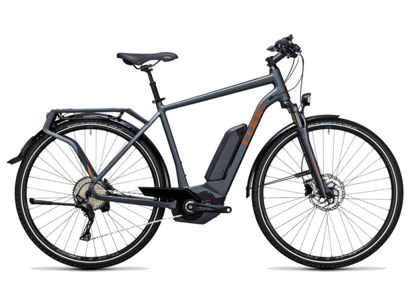 Cube Touring Hybrid Exc 500 grey´n´copper