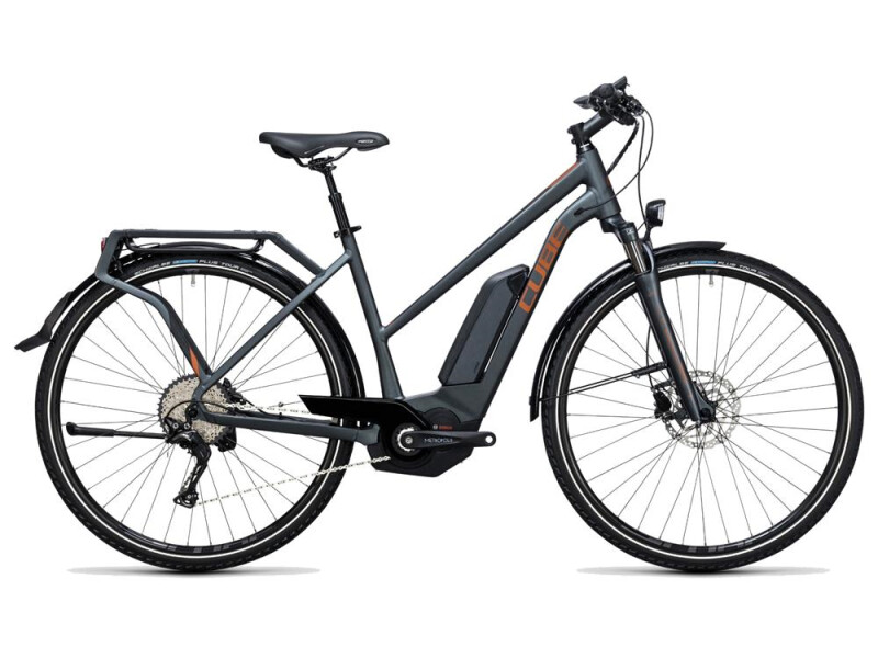 Cube Touring Hybrid Exc 400 grey´n´copper
