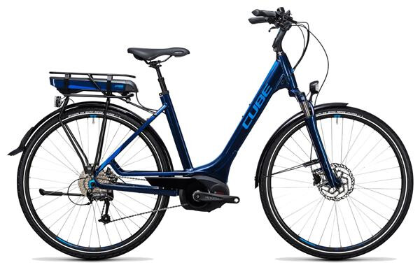 CUBE - Touring Hybrid Pro 500 blue´n´blue