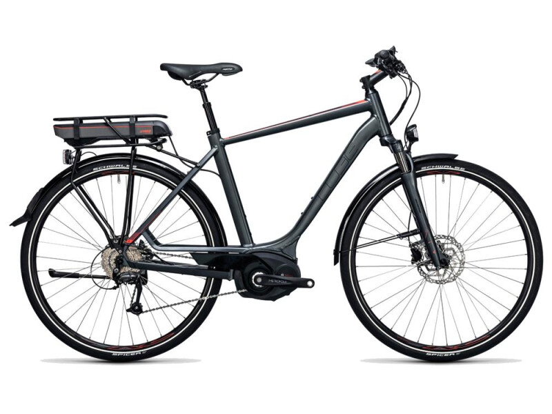 Cube Touring Hybrid 400 grey´n´flashred