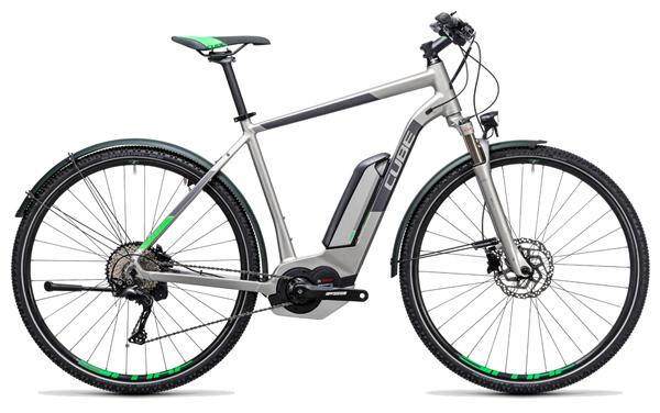 CUBE - Cross Hybrid Race Allroad 500 silver´n´green