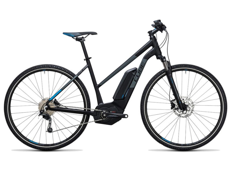 Cube Cross Hybrid Pro 400 black´n´blue