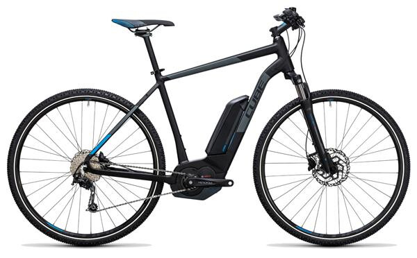 CUBE - Cross Hybrid Pro 400 black´n´blue