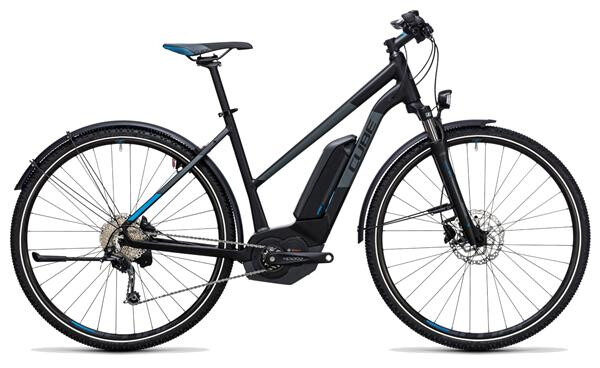 CUBE - Cross Hybrid Pro Allroad 500 black´n´blue