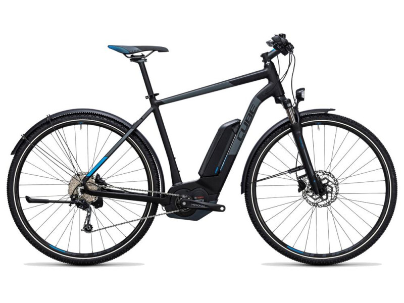 Cube Cross Hybrid Pro Allroad 400 black´n´blue