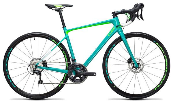 CUBE - Axial WLS GTC SL Disc mint´n´green