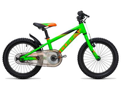 Cube Kid 160 flashgreen´n´orange
