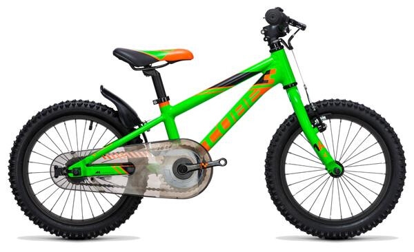 CUBE - Kid 160 flashgreen´n´orange