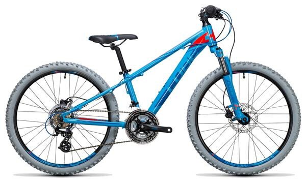 CUBE - Kid 240 Disc blue´n´flashred