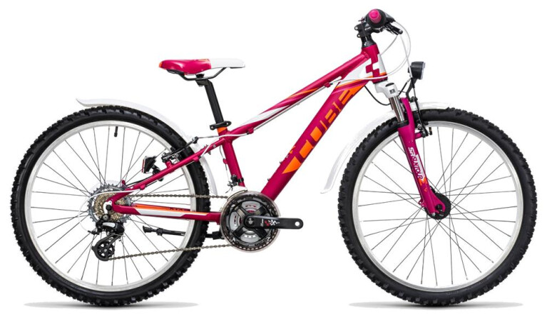 CUBE Kid 240 Allroad girl berry´n´white