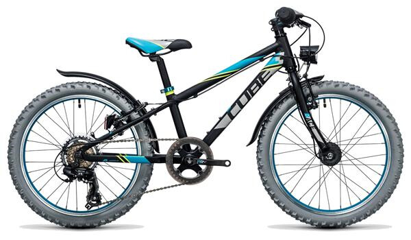 CUBE - Kid 200 Allroad black´n´blue