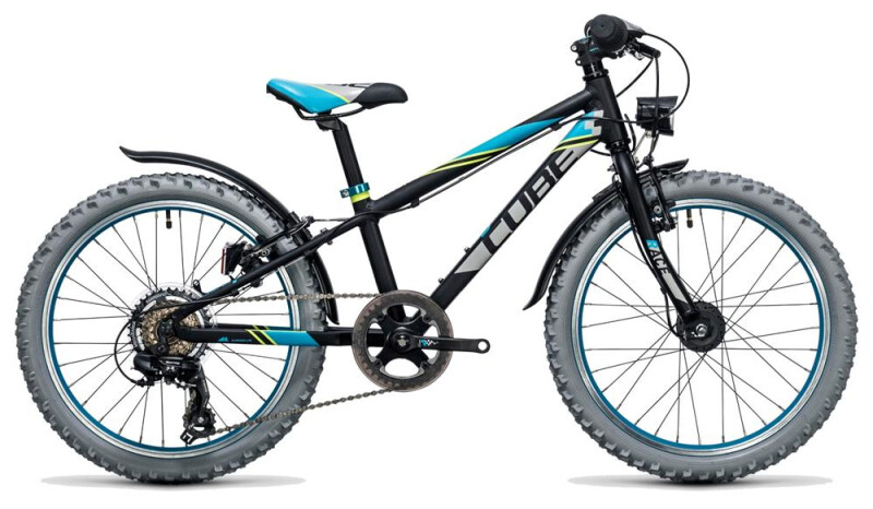 Cube Kid 200 Allroad black´n´blue Kinder / Jugend