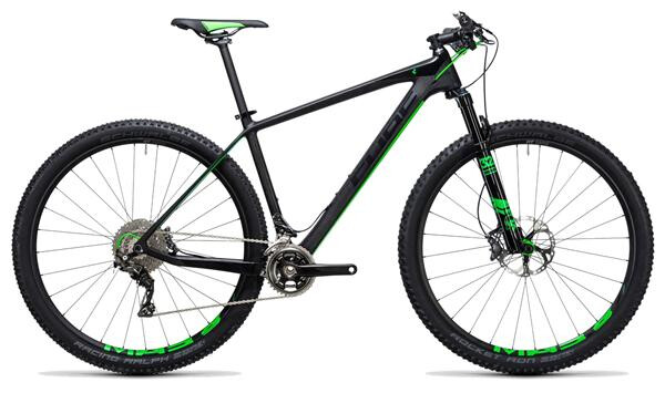 CUBE - Elite C:68 Race 29 2x carbon´n´green