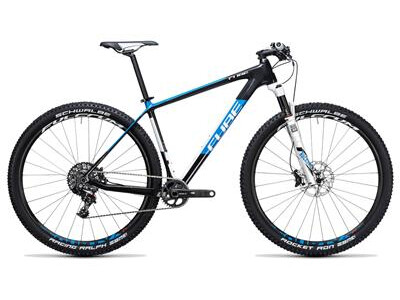 Cube Elite C:62 Race 29 1x carbon´n´blue