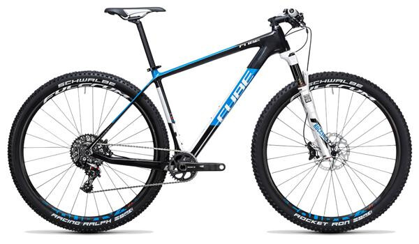 CUBE - Elite C:62 Race 29 1x carbon´n´blue