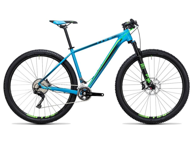 Cube LTD SL 2x blue´n´green