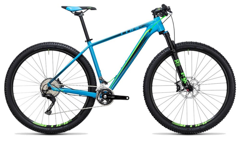 Cube LTD SL 29 blue-green