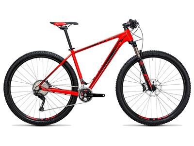 Cube LTD Race 2x red´n´black