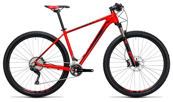 CUBE - LTD Race 2x red´n´black