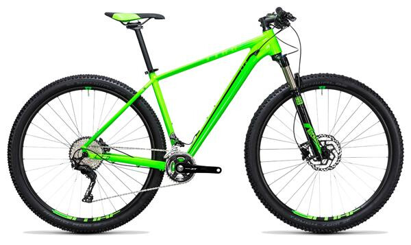 CUBE - LTD Pro 2x green´n´black