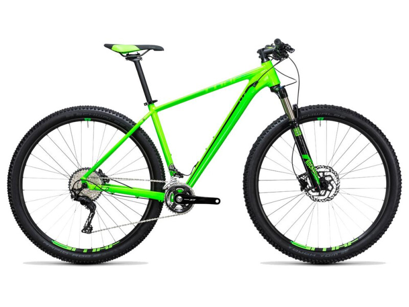 Cube LTD Pro 2x green´n´black