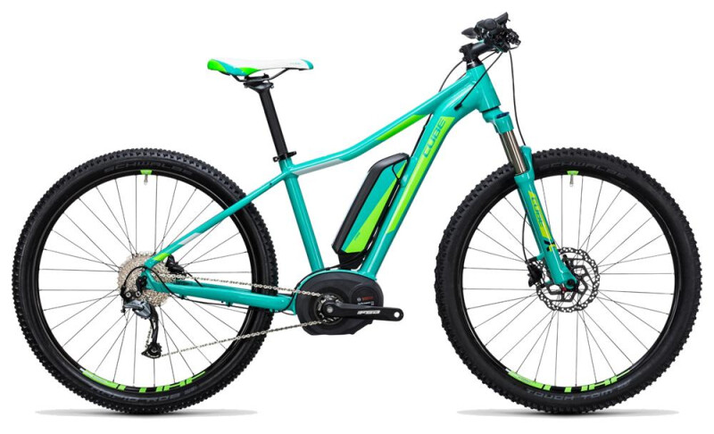 Cube Access WLS Hybrid ONE 500 mint´n´green E-Bike
