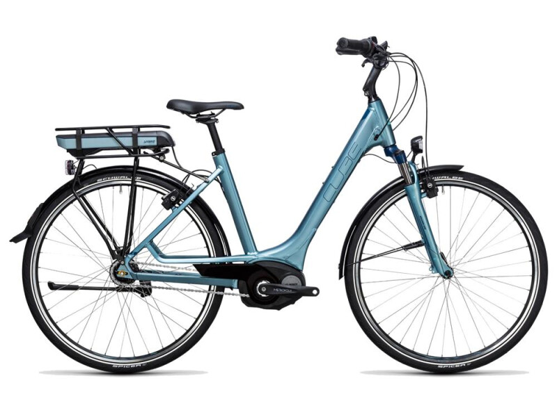 Cube Travel Hybrid ONE 400 bluegreen´n´blue