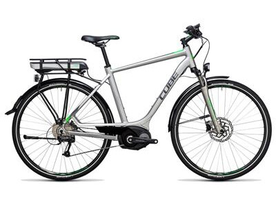 Cube Touring Hybrid ONE 500 silver´n´flashgreen