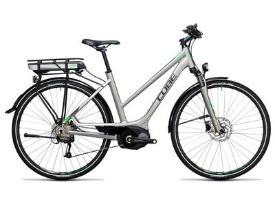 Cube Touring Hybrid ONE 400 silver´n´flashgreen