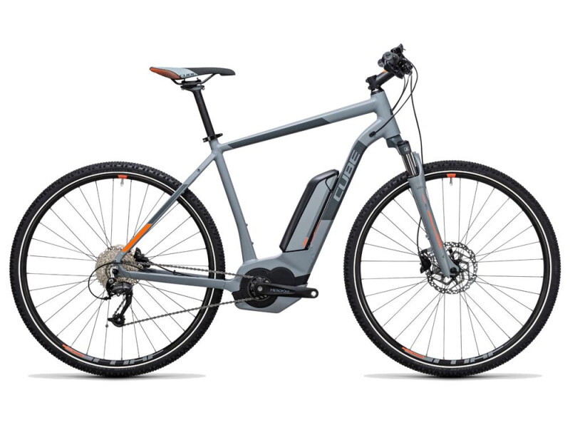 Cube Cross Hybrid ONE 500 grey´n´orange