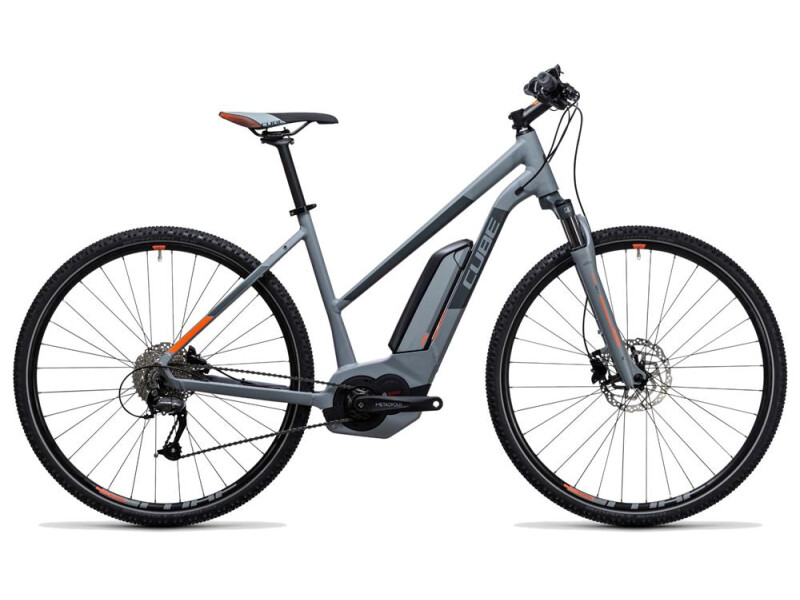 Cube Cross Hybrid ONE 400 grey´n´orange
