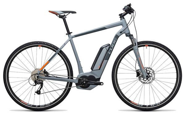 CUBE - Cross Hybrid ONE 400 grey´n´orange
