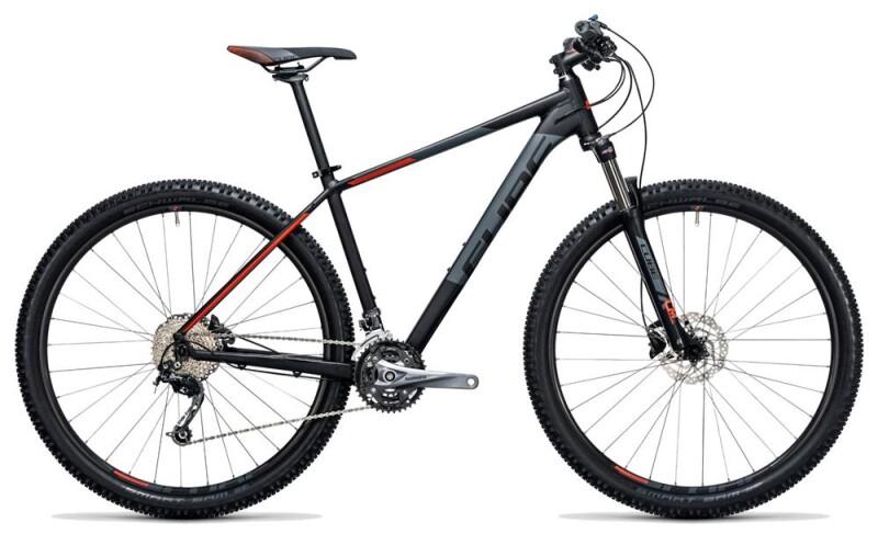 Cube Aim SL black´n´flashred Mountainbike