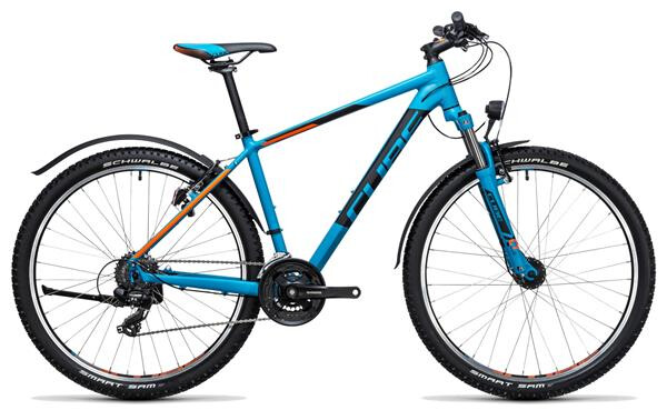 CUBE - Aim Allroad 27.5 blue´n´flashorange
