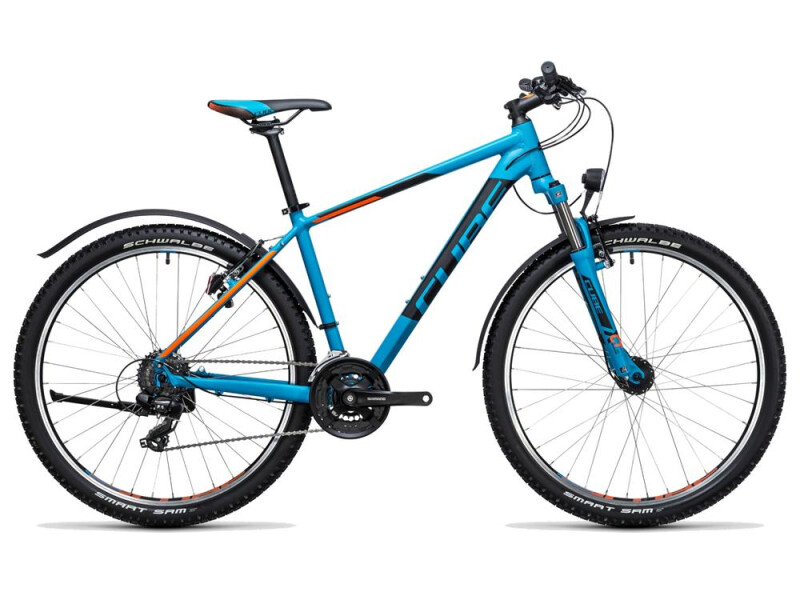 Cube Aim Allroad 27.5 blue´n´flashorange