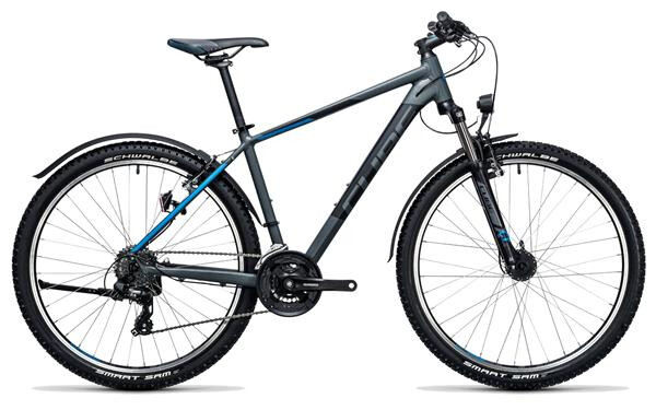 CUBE - Aim Allroad 27.5 darkgrey´n´blue