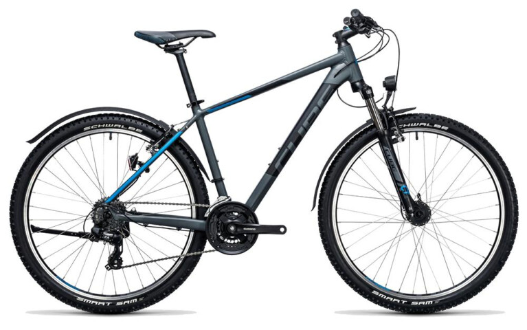 CUBE Aim Allroad 27.5 darkgrey´n´blue