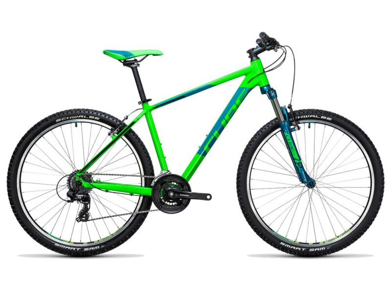 Cube Aim 27.5 green´n´blue