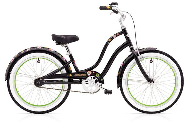 ELECTRA BICYCLE - Sugar Skulls 1 20in Girls'