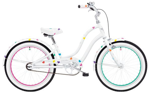 ELECTRA BICYCLE - HEARTCHYA 3I 20IN GIRLS' 20
