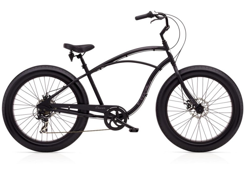 Electra Bicycle Cruiser Lux Fat 7D Men's Cruiser-Bike