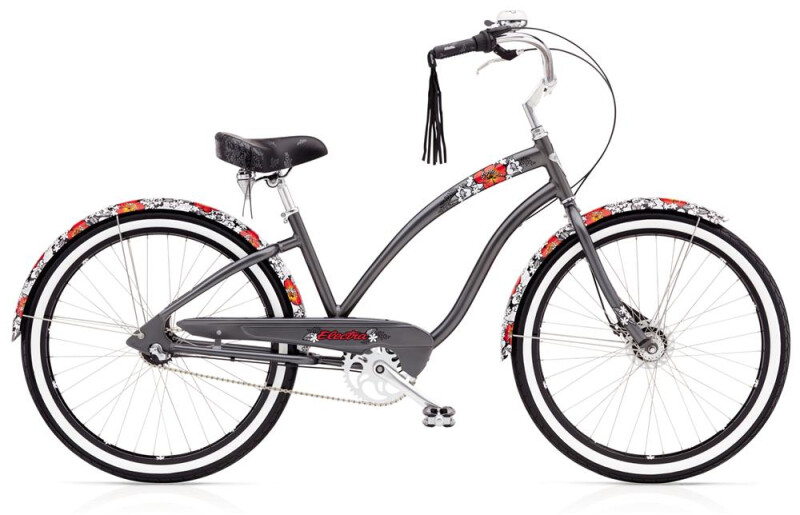 Electra Bicycle WILD FLOWER 3I LADIES' 26 Cruiser-Bike