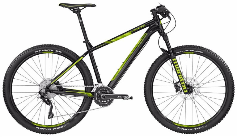 BERGAMONTBGM Bike Roxter Edition black/lime