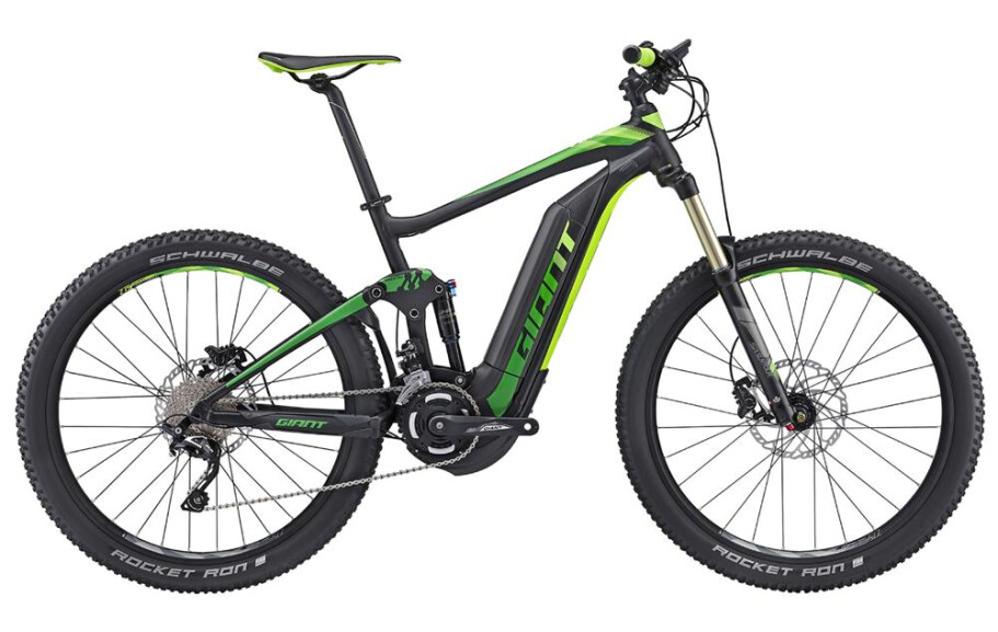 GIANT Giant Full-E+ 2 Power Black/Green L