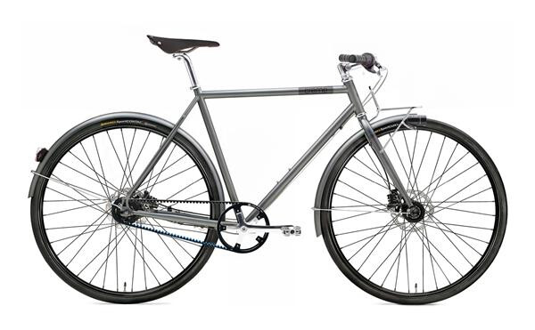 CREME CYCLES - Ristretto Thunder, 8-speed, belt, dynamo
